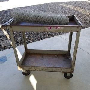 Metal Rolling Cart for Sale in Arroyo Grande, CA