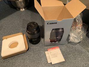 Cannon EF 100 mm , f/ 2.8 macro usm lens for Sale in Tarpon Springs, FL