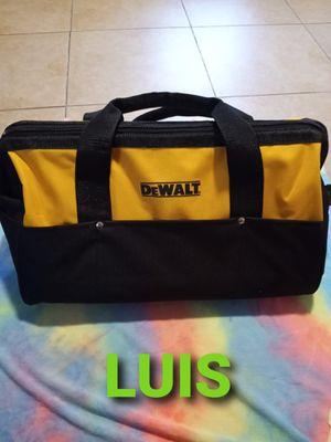 DE WALT BAG PRECIO FIJO $20 for Sale in Bell Gardens, CA