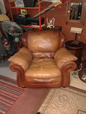 Leather chair by Ashley for Sale in St. Louis, MO