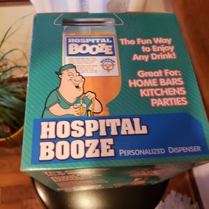 Hospital Booze Dispenser Novilty for Sale in Stonecrest, GA