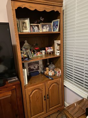 Curio and Bookshelf for Sale in Beltsville, MD