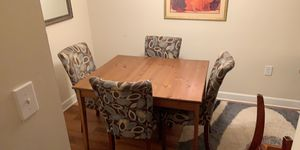 Dining table 4 chairs for Sale in Alexandria, VA