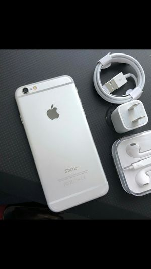 Iphone 6, 16GB - excellent condition, factory unlocked, includes new accessories for Sale in Springfield, VA