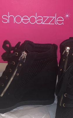 Black Sneaker Wedges for Sale in Las Vegas,  NV