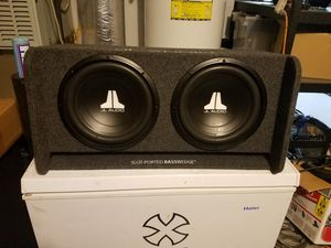 JL audio vented subwoofers for Sale in Maple Valley, WA
