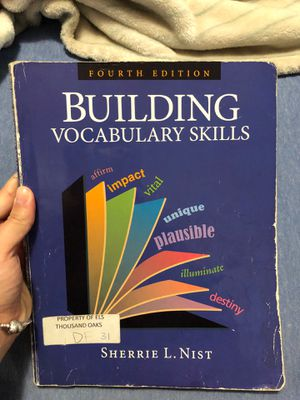 Building Vocabulary Skills by Sherrie L. Nist for Sale in Miami, FL
