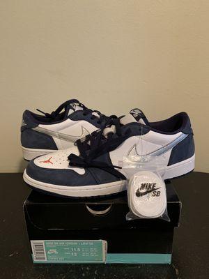 Size 11.5 Nike SB Air Jordan 1 Low Midnight Navy (Pick Up) for Sale in Sunrise, FL