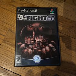 Def Jam Fight For NY - PS2. Case And Disc. for Sale in Milwaukee,  WI