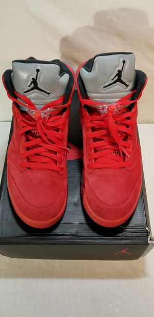 Jordan Retro 5 Red Suede size 12 $200 for Sale in Bellevue, WA