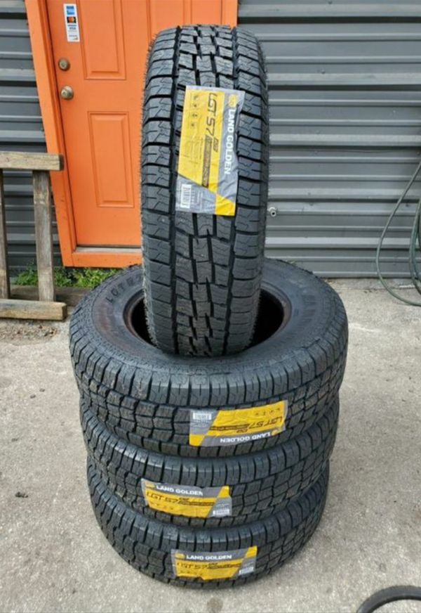 265/70/18 new all terrain tires for $650 with balance and installation we also finance {contact info removed} Dorian 7637 airline dr houston TX 77037