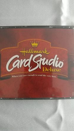Hallmark card Studio Deluxe 4 Disc set for Sale in Manorville,  NY