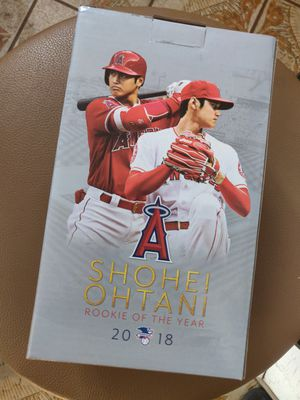 Shoehei Ohtani Rookie of the year bobblehead for Sale in Norwalk, CA