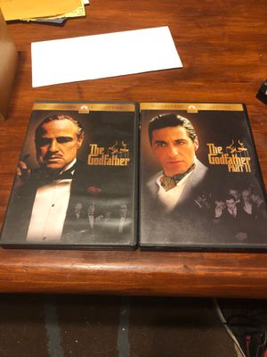 The Godfather Parts 1&2 DVD for Sale in Stockton, CA