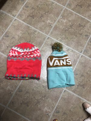 One size fits all Vans and American Eagle Beanies for Sale in Houston, TX