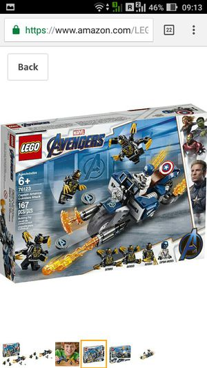 "LEGO set 76123 ""Captain America: outsiders Attack"" brand new 20% off!! for Sale in Houston, TX"