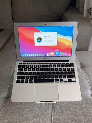 "2014 MacBook Air 11"" Core i5 128GB SSD 4GB RAM Latest macOS 11 Big Sur for Sale in Sunrise, FL"