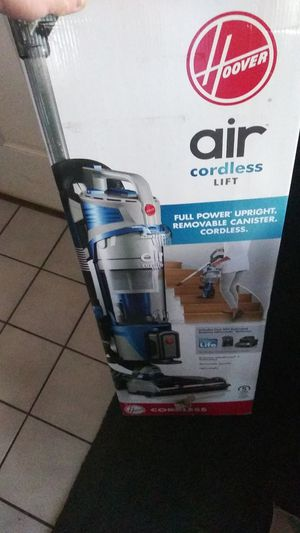 Hoover air cordless lift upright vacuum for Sale in North Las Vegas, NV