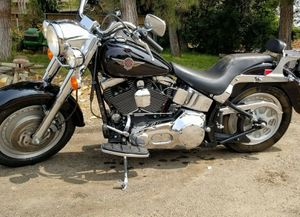 2001 Harley-Davidson Fatboy w/Low mileage for Sale in Ontario, CA