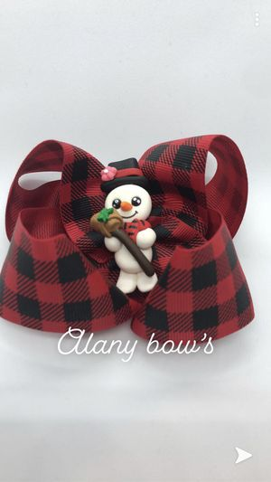 Snow man bow for Sale in Federal Way, WA