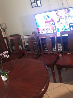 Dining table 6chairs for Sale in Ontario,  CA