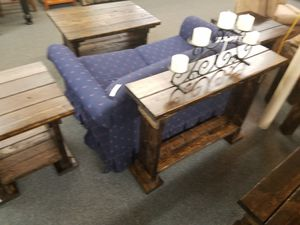 Set of 2end tables coffe table and sofa table for Sale in Appleton, WI