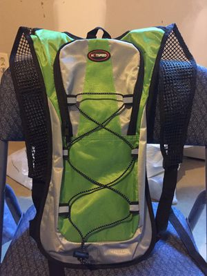 New 'Hotspeed' bicycling backpack. Lime green for easy visibility for Sale in Normal, IL