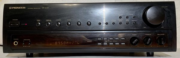 Pioneer SX-203 Stereo Receiver 150 W Vintage