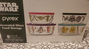 StarWars Pyrex set of 4 bowls for Sale in Ontario, CA