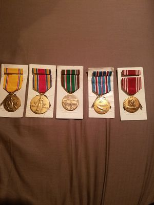 (5 )World War 2 Medals for Sale in Lockport, IL