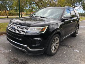 2018 FORD EXPLORER LIMITED for Sale in Hollywood, FL