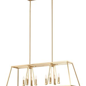 2 Conant Gilded Satin Brass Light Fixtures for Sale in Boston, MA