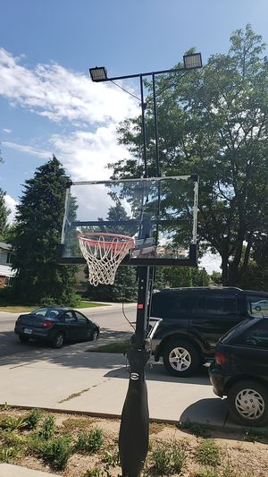 Elite fixed basketball hoop for Sale in Centennial, CO