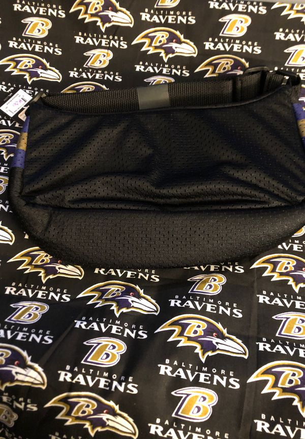 New NFL Baltimore Ravens Jersey Cross Body Bag - NWT