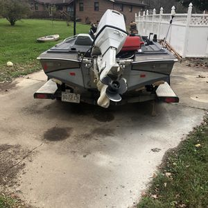 Project Bass Boat 18.5 Ft BOAT WITH TRAILER!!! for Sale in Beltsville, MD