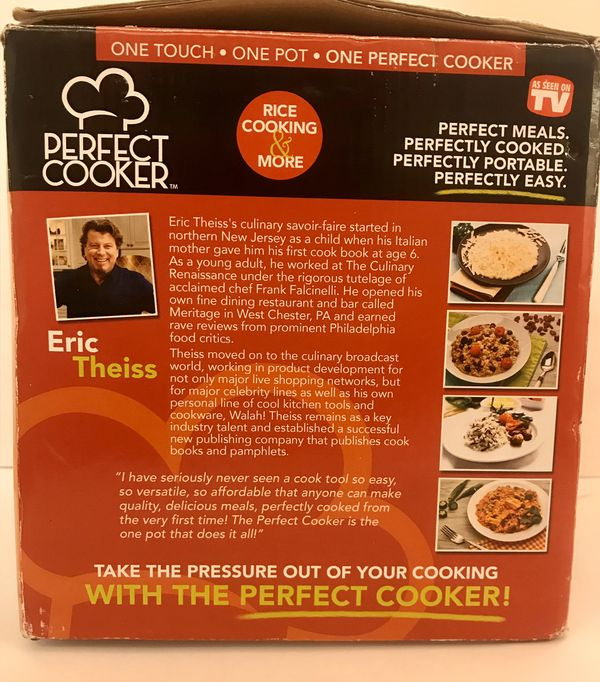 Perfect Cooker™ Multi-Cooker in Black, 3 Cup Size