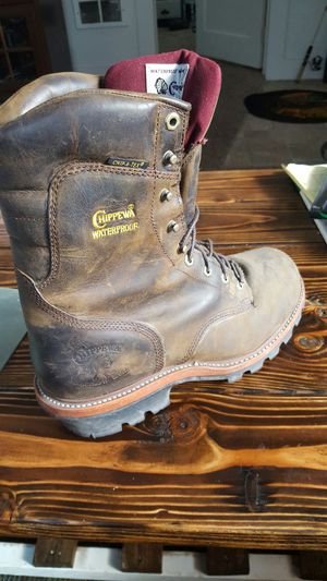 Chippewa justins boots for Sale in Everett, WA