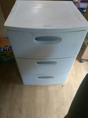 Storage containers 3 drawers for Sale in Travelers Rest, SC