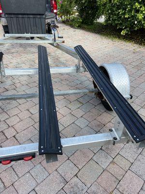 Trailer double jet ski ALUMINUM for Sale in Deerfield Beach, FL