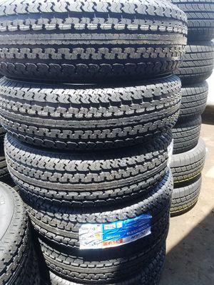 St225 75 15 brand new trailer tires 10 ply $55 for Sale in Glendale, AZ