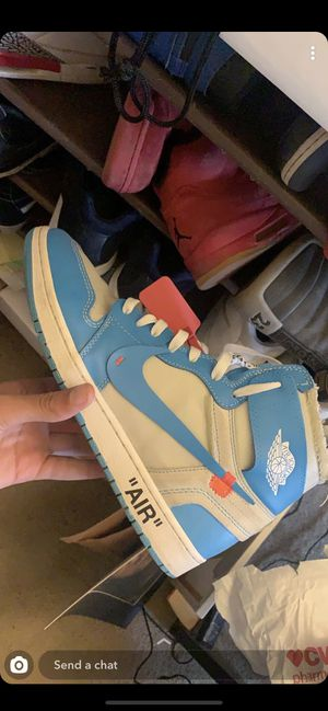 Off white unc 1s. 100% authentic with proof of purchase! for Sale in Pepper Pike, OH