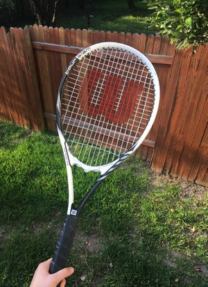 Used Once Wilson Tour Slam Adult Tennis Racquet/Racket for Sale in Austin, TX