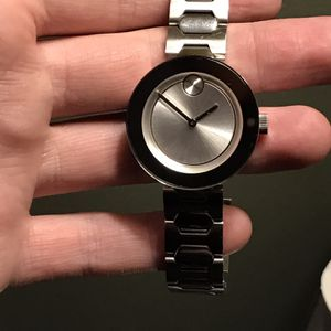 Movado bold Stainless Steel Watch(needs New Battery) for Sale in East Windsor, NJ