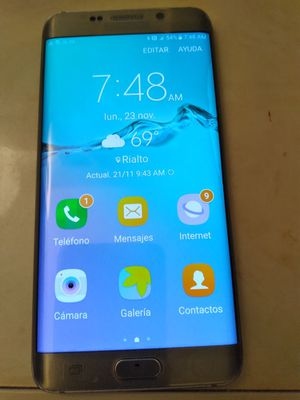 Samsung galaxi 6 edg en Buenas conditions for Sale in Rialto, CA
