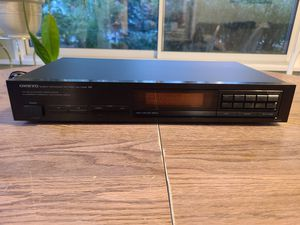Onkyo Quartz Synthesized AM, FM Stereo Tuner for Sale in MENTOR ON THE, OH