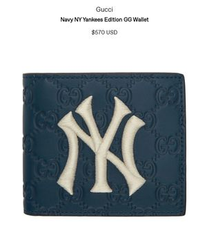 GUCCI x NY YANKEES Edition wallet NAVY ((REAL)) NO BS for Sale in Queens, NY