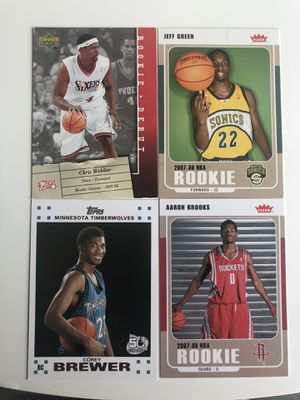 48 NBA Rookie cards (Chris Webber etc.) for Sale in Tacoma, WA