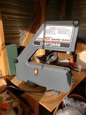 """Craftsman 10"""" Band Saw. Excellent condition! for Sale in Aberdeen, MS"""