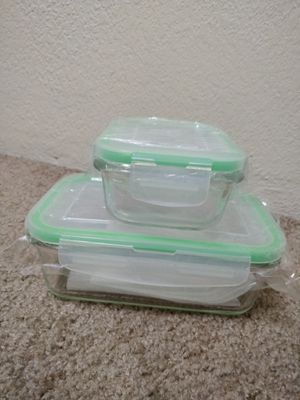 BRAND NEW Glass food storage containers for Sale in Seattle, WA