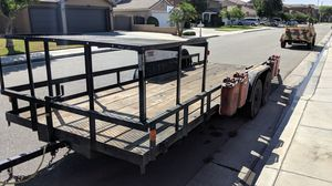 Flat bed trailer for Sale in Jurupa Valley, CA